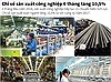 Chỉ số sản xuất công nghiệp 6 tháng tăng 10,5%