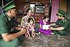Bộ đội Biên phòng Kiên Giang tiếp sức học sinh nghèo vùng biên đến trường