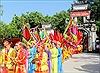 Tục thi đấu cờ tướng tại lễ hội Đền Trần Thương