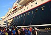 Tàu Thanh niên Đông Nam Á và Nhật Bản rời Việt Nam đến Nhật Bản