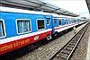 Đường sắt nhận trực tuyến vận chuyển hàng từ nhà đến nhà