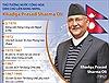 Thủ tướng Nepal sẽ thăm chính thức Việt Nam và dự Đại lễ Vesak 2019
