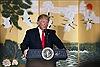 Tổng thống Trump kêu gọi tiếp tục giảm thâm hụt thương mại của Mỹ với Hàn Quốc
