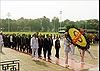 Đoàn đại biểu dự Đại hội Mặt trận Tổ quốc Việt Nam lần thứ IX vào Lăng viếng Bác