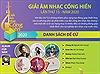 Không tổ chức lễ bình chọn, trao Giải Âm nhạc Cống hiến năm 2020