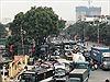 Ùn tắc cửa ngõ phía Nam Hà Nội do người dân về quê ngày 28 Tết