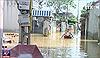Nhiều nguyên nhân gây ngập lụt ở ngoại thành