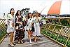 Đặt chân tới Bà Nà Hills, các Hoa hậu Thế giới nói gì về Cầu Vàng?