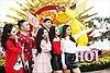 Giới trẻ 'điên đảo' trước những khuôn hình đẹp không tì vết tại Lễ hội hoa xuân Sun World Halong Complex