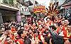Lễ hội rước pháo khổng lồ làng Đồng Kỵ