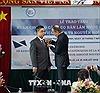 Trao tặng Huân chương Cành cọ Hàn lâm cho PGS,TS Nguyễn Ngọc Điện