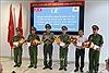 Thưởng nóng thành tích phá vụ án cướp 940 triệu đồng tại Viettin Bank, Tiền Giang
