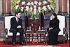 Quyền Chủ tịch nước Đặng Thị Ngọc Thịnh tiếp Thủ tướng Hàn Quốc Lee Nak-yon