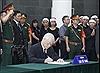 Lãnh đạo Đảng, Nhà nước viếng nguyên Tổng Bí thư Đỗ Mười và ghi sổ tang
