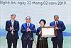 Thủ tướng dự Lễ khánh thành Nhà máy sản xuất nước tinh khiết, thảo dược và hoa quả Núi Tiên