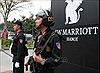 Siết chặt an ninh khu vực Trung tâm Hội nghị Quốc gia và khách sạn JW Marriott