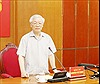Tổng Bí thư, Chủ tịch nước Nguyễn Phú Trọng: Chuẩn bị tốt nhân sự đại hội đảng bộ các cấp và Đại hội XIII của Đảng