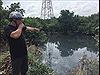 Tái diễn xả thải gây ô nhiễm trầm trọng nhánh sông Vàm Hưng Mỹ