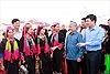 Chủ nhiệm Ủy ban Dân tộc dự Ngày hội Đại đoàn kết tại Quảng Ninh