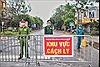Các chốt kiểm soát dịch COVID-19 vẫn 'rào kín' thôn Hạ Lôi