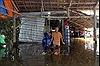 Triều cường dâng cao, khu vực phường Cái Khế, Cần Thơ ngập nặng