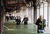 Thành Venice ngập gần như hoàn toàn trong nước sâu 1,5 mét