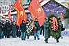 Russia celebrated the 95th anniversary of the loss of proletariat V. Lenin