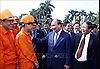 Thủ tướng Nguyễn Xuân Phúc vui 'Tết sum vầy' với công nhân Hải Phòng
