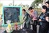 Đại biểu phụ nữ Việt Nam - Campuchia thắp hương tưởng niệm tại Khu chứng tích tội ác quân Khmer đỏ Pol Pot-Ieng Sary