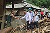 Bí thư Tỉnh ủy Thanh Hóa kiểm tra tình hình khắc phục lũ lụt tại huyện Quan Sơn