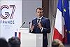 Pháp ra tuyên bố ngắn gọn về nhiều vấn đề nóng tại hội nghị G7
