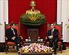 Đồng chí Nguyễn Văn Bình tiếp Phó Trợ lý Bộ trưởng Tài chính Hoa Kỳ