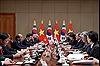 Thủ tướng Chính phủ Nguyễn Xuân Phúc hội đàm với Tổng thống Hàn Quốc Moon Jae-in