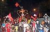 SEA Games 30: Người hâm mộ rộn ràng ăn mừng Việt Nam vô địch
