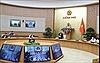 Thường trực Chính phủ họp trực tuyến với Ban Chỉ đạo Quốc gia phòng, chống dịch COVID-19