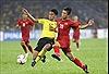 Sức nóng trận cầu giữa tuyển Việt Nam và Malaysia tăng dần
