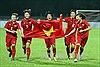 Đánh bại Thái Lan sau 120 phút thi đấu, tuyển nữ Việt Nam đăng quang ngôi vô địch