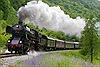 'Tái sinh'đoàn tàu hơi nước tại Slovenia