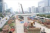 Ra quân đầu xuân trên công trường cầu cạn đường vành đai 3 trên cao TP Hà Nội