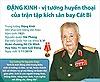 Đặng Kinh - vị tướng huyền thoại của trận tập kích sân bay Cát Bi qua đời
