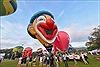 Rực rỡ khinh khí cầu trong lễ hội ở Penang