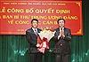 Đồng chí Nguyễn Ngọc Hà được bổ nhiệm chức vụ Phó Giám đốc Học viện Chính trị quốc gia Hồ Chí Minh
