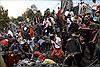 Sập chùa đang thi công ở Campuchia, nhiều người bị vùi lấp