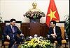 Việt Nam ủng hộ tổ chức Cấp cao Kỷ niệm ASEAN - Hàn Quốc
