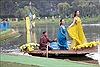 Trình diễn thời trang tơ lụa Bảo Lộc và thổ cẩm Lâm Đồng