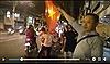 Người dân Cần Thơ ào ra đường, khua cờ hoa chúc mừng U23 Việt Nam thắng xứng đáng