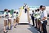 Bamboo Airways đón chuyến bay quốc tế đầu tiên từ Hàn Quốc