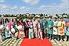 Áo dài hoa của 5 họa sĩ Việt toả sáng bên sông Seine