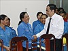 Chủ tịch Ủy ban Trung ương MTTQ Việt Nam thăm, chúc Tết tại Cần Thơ