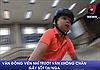 Vận động viên trượt ván không chân 'gây sốt' tại Nga